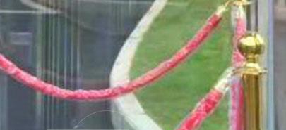 红绳装饰柱